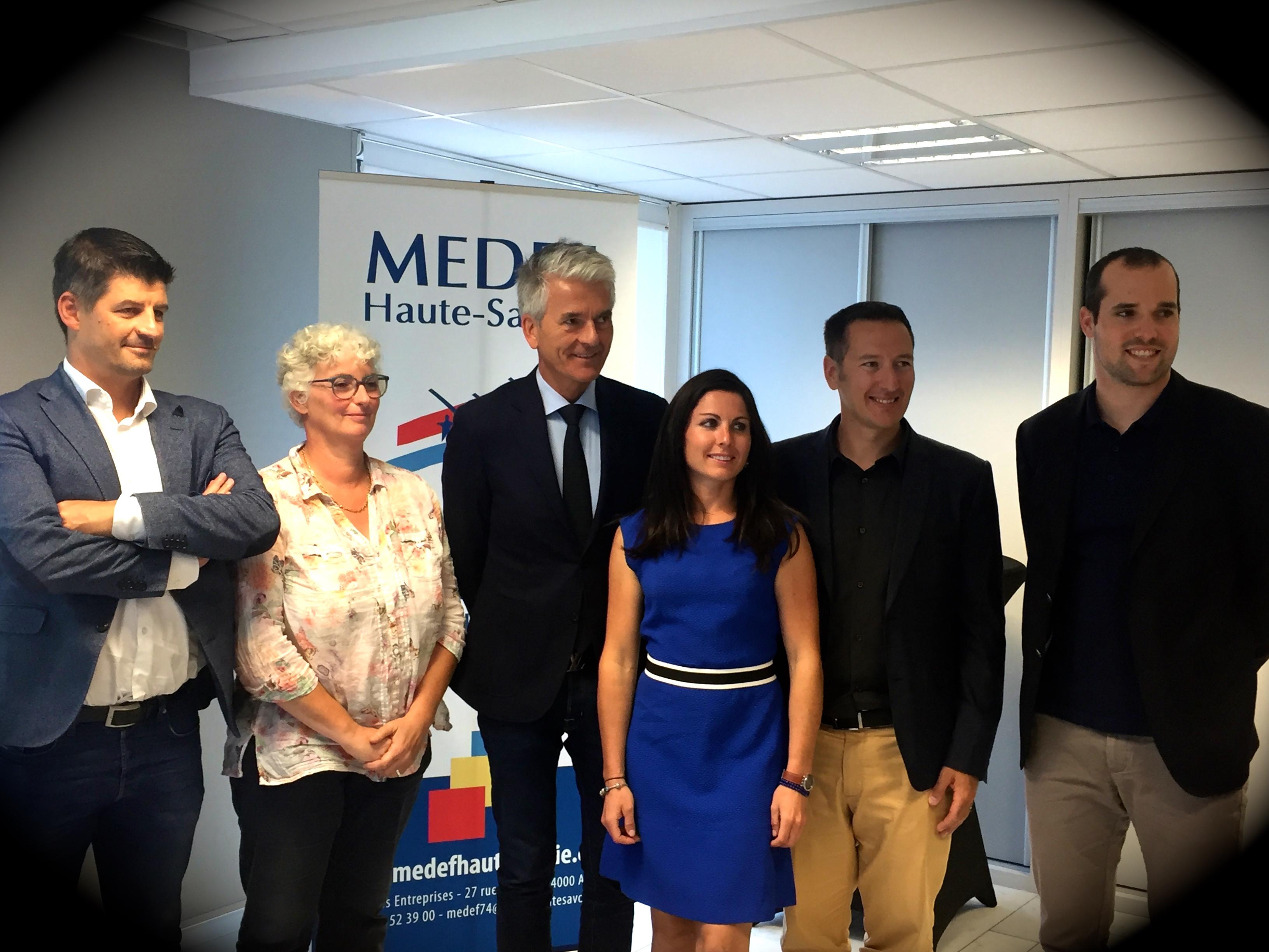 Signature du partenariat avec le Medef ce mardi 25 septembre