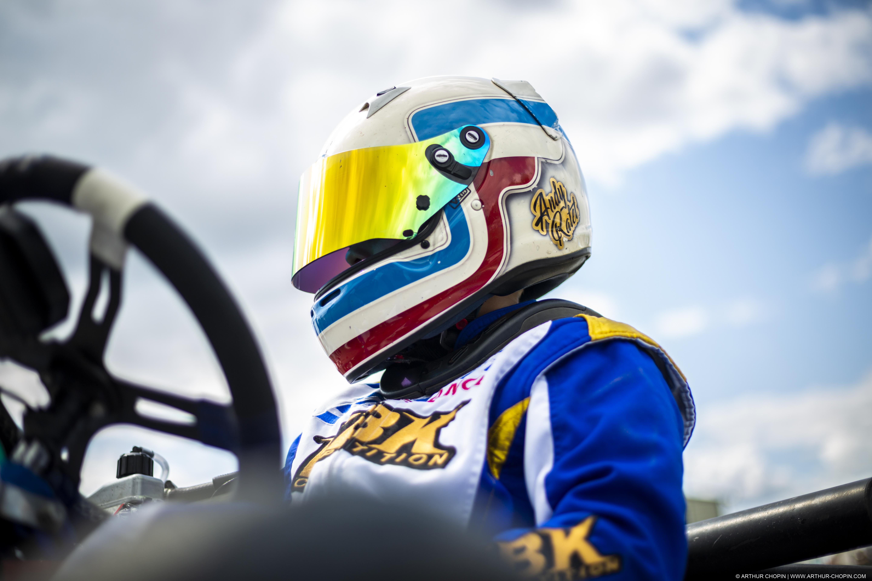 Un nouveau venu chez Double-Mixte : Andy Ratel pilote de kart