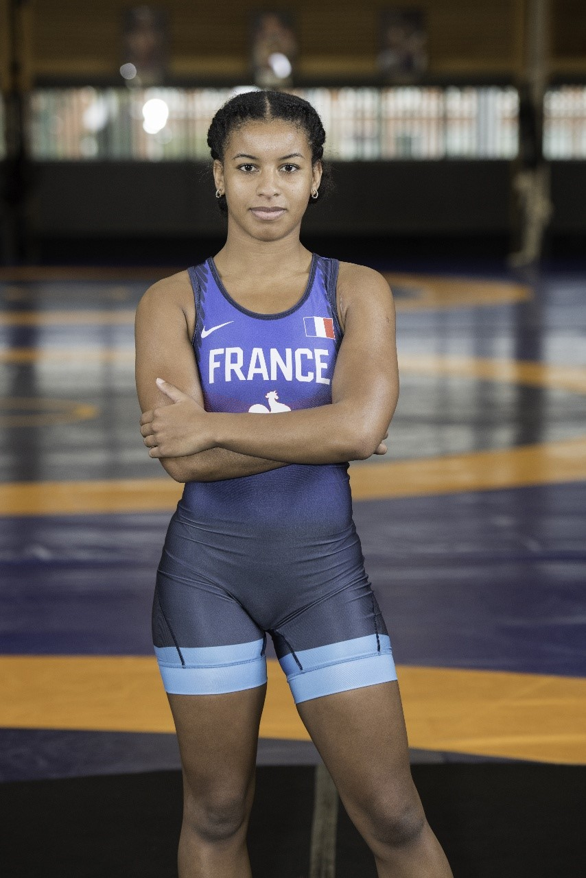 Hilary Honorine en partance pour les Championnats du Monde -23ans.